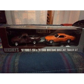 Ford 1997 F150 Y Mustang Boss1970-trailer-hershey