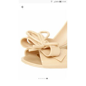 f6a194de57 Sapato Petite Jolie Anabela Peep Toe - Sapatos no Mercado Livre Brasil
