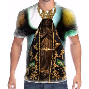 Camisa Camiseta Nossa Senhora Aparecida Religiosa
