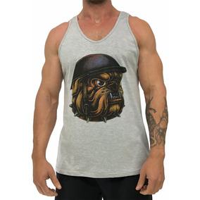 Camiseta Bulldog - Camisetas Regatas para Masculino no Mercado Livre ... 729f634d8db