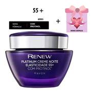 Renew Platinum Noite 60 Anos Creme Facial Avon + Brinde