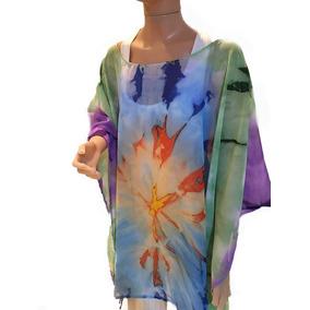 Tunicas,camisolas Pintadas A Mano Talles Especiales