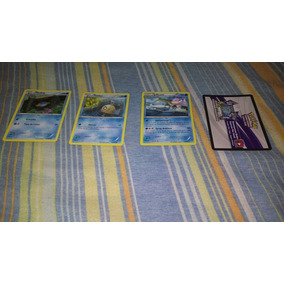 Combo 3 Cartas Pokemon + 1 Codigo Booster(pokemon Tcg Online