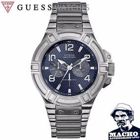 Reloj Guess Rigor U0218g2 Acero Inox Original Con Garantia