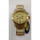 Relógio Original Atlantis Dourado Bulgari C3 - Frete Gratis