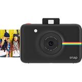 Polaroid Rápido Instantánea Cámara Digital (negro) Con