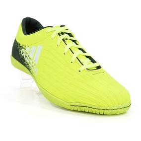 Chuteira Futsal adidas X 16.1 Amarelo Limão E Preto