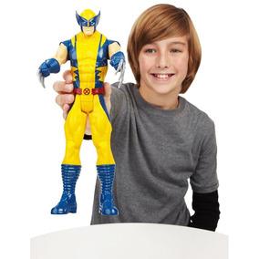 Boneco Wolverine Titan Hero X-men Hasbro Frete Grátis