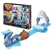 Monster Jam Megalodon Mayhem Pistas De Carreras Spin Master