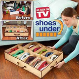 Shoes Under Tv, Organizador De 12 Pares De Zapatos