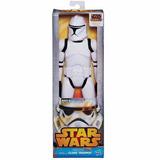Muñeco Clone Trooper - Starwars - 30cm - Hasbro - Original