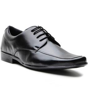 Sapato Social Masculino Couro Ecologico Amarra