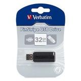 Pendrive Verbatim Pinstripe 32gb En Blister Memoria Usb