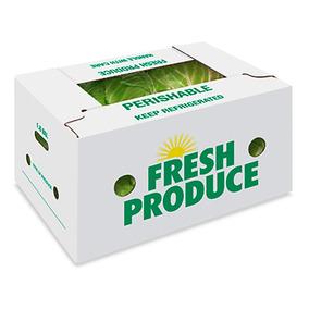 cajas de carton enceradas para frutas o verduras kg
