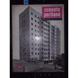 Revista Cemento Portland 1956 Trenes Ferrocarril Durmientes
