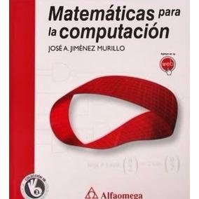Libro: Matemáticas Para La Computación - Pdf