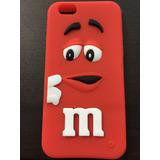 Funda Iphone 6 Diseño M&m Varios Colores