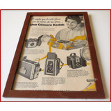 Dante42 Cuadro Publicidad Antigua Retro Camara Kodak 1955