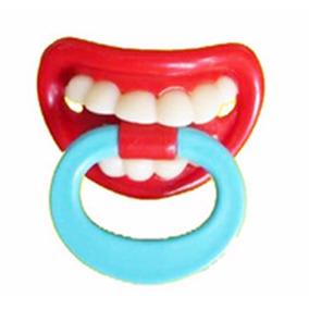 Chupeta Engraçada Dentinho