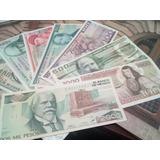 Coleccion 8 Billetes Mexicanos Sin Circular 5 A 2,000 Pesos