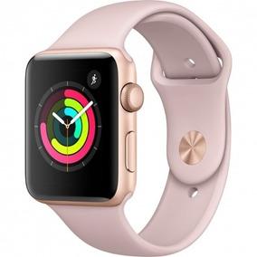 Relógio Apple Watch Serie3 42mm Rose Gold Sport Pt Entrega