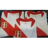 Camiseta De Peru Para Niños Tallas: 4, 6, 8, 10, 12, 14
