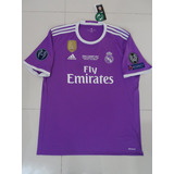 Jersey adidas Del Real Madrid Morado Final Champions League