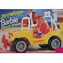 Juguete Los Vigilantes De Barbie Rescate Ruedas Jeep Estilo