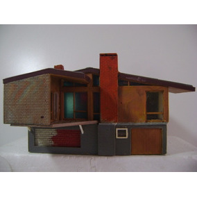 Nico Hermosa Casa Americana Todo Plastico Faller? H0(cch 32)