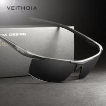 Oculos De Sol Masc. Veithdia Revestimento Pol. Uv400 R$79,90