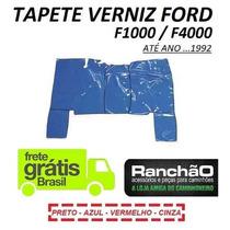 Tapete Verniz Caminhão Ford F1000 F4000 Todas Até ...1992
