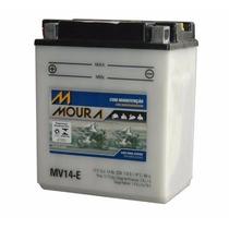Bateria Moura Moto Mv14-e Cbx 750 Cb 1000f Vulcan750 Yb14-a2
