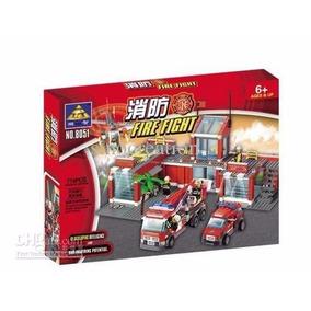 Lego Quartel Bombeiro Marca Kazi 774pcs