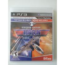 Top Gun Video Game Wingman Edition Ps3 Mídia Física Original