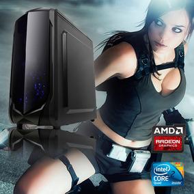 Pc Gamer Core 2 Quad / Hd 6770 1gb Gddr5 / Hd 750gb / 500w
