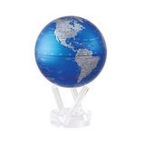 4,5 Azul Cobalto Y Plata Mova Globe