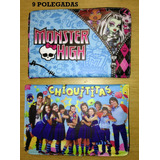 Case Capa Couro Para Tablete 9 Monster High Chiquititas