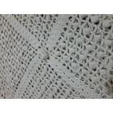 Colcha Crochê Artesanal- Solteiro