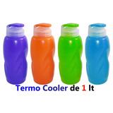 Termos Cooler D Agua Plastico Niño Colegio O Gim Deporte 1l