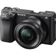 Sony Alpha 6400 16-50mm Oss Kit Mirror-less Cor Preto