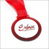 Medalha Em Acrílico Personalizadas Com 4 Cm Impressão Uv 3mm