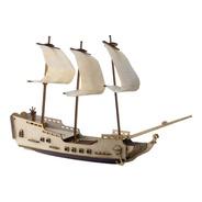 Barco Pirata Galeon Tipo Corsario De Combate Full