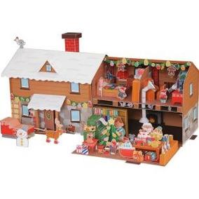 Enfeite De Natal - Casa Do Papai Noel