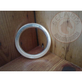 Argola Alpaca Serrilhada N23 Corneta 7.1cm Ext 5.3cm Interna