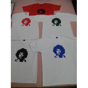 Camiseta Jimi Hendrix Vários Tamanhos E Cores