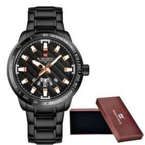 Relógio Masculino Naviforce Original Nf9090 De Luxo