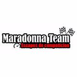 Escape Maradonna Multiple De Pista Y Picadas Competicion Gol