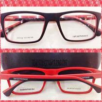 Ea3034 Masculina Armação Óculos Receituário