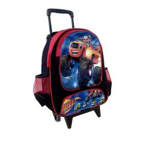 Mochila Escolar Infantil Blaze Monster Machine - Tamanho G