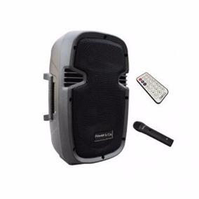Bocina Amplificada Bluetooth Power & Co Xp-8000gy 3200w/pmpo